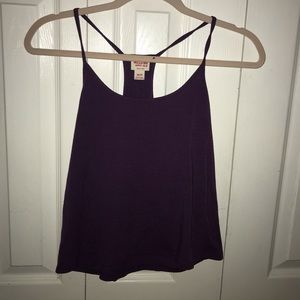 Plum purple tank
